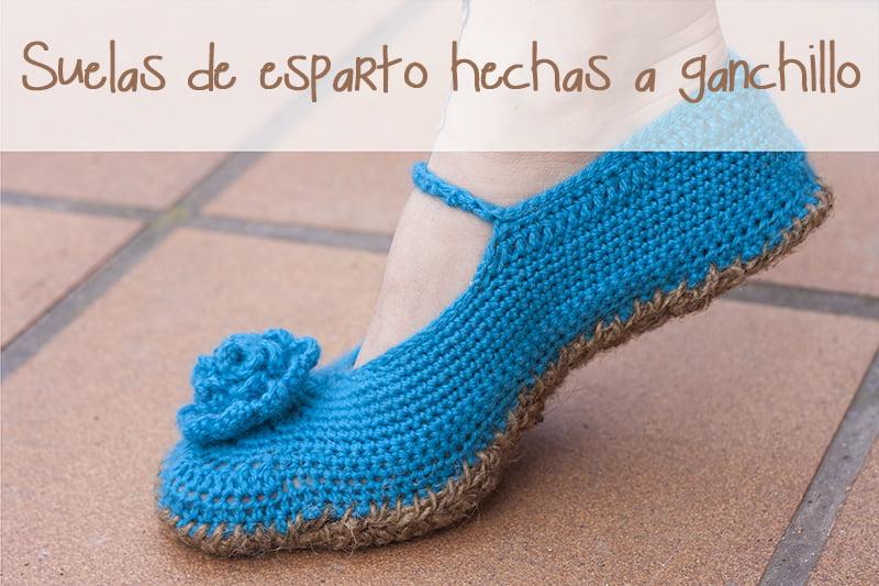 Suela para zapatillas de ganchillo ideas para - Cosas para hacer de ganchillo ...