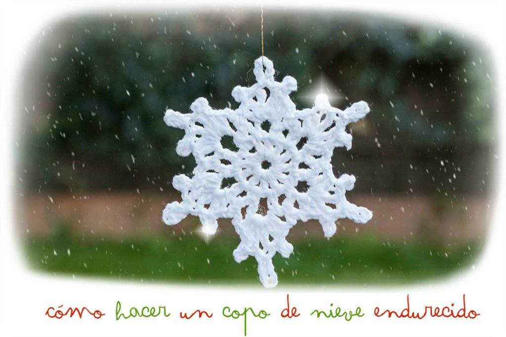 copo-de-nieve-ganchillo-endurecido