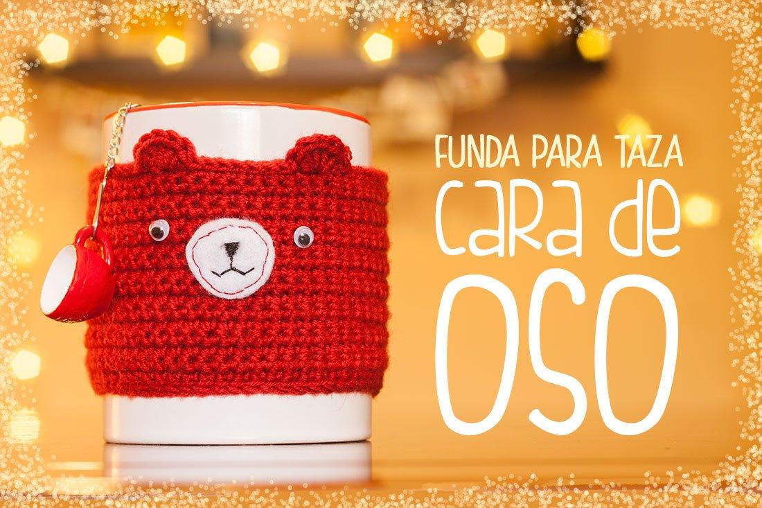 funda-para-taza-ganchillo-crochet-oso