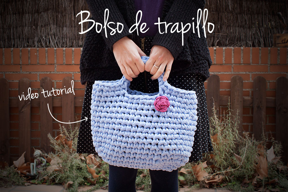 C mo hacer un bolso de trapillo v deo tutorial for Tutoriales de trapillo