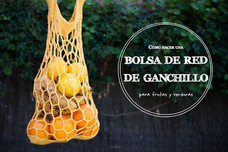 Cómo hacer una bolsa de red de ganchillo para el mercado de frutas y verdurasCómo hacer una bolsa de red de ganchillo para el mercado de frutas y verduras
