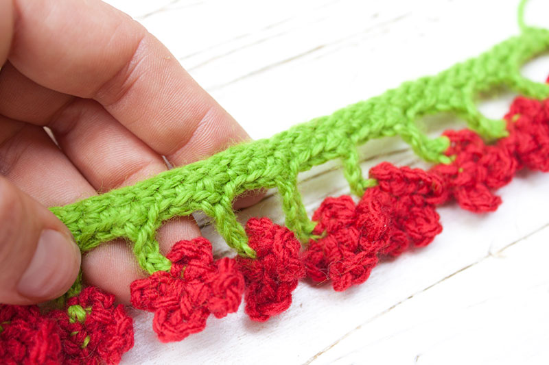 C mo hacer un borde original de ganchillo v deo tutorial - Como hacer mantas de ganchillo ...