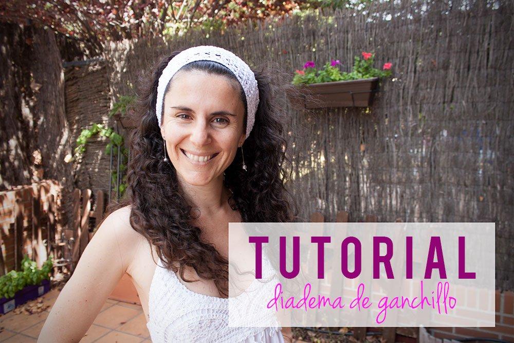 Vídeo tutorial: Cómo hacer una diadema para el pelo o vincha de ganchillo