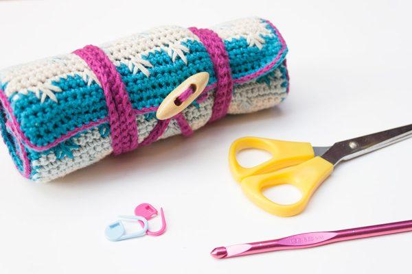 curso online cómo hacer un estuche para agujas de ganchillo