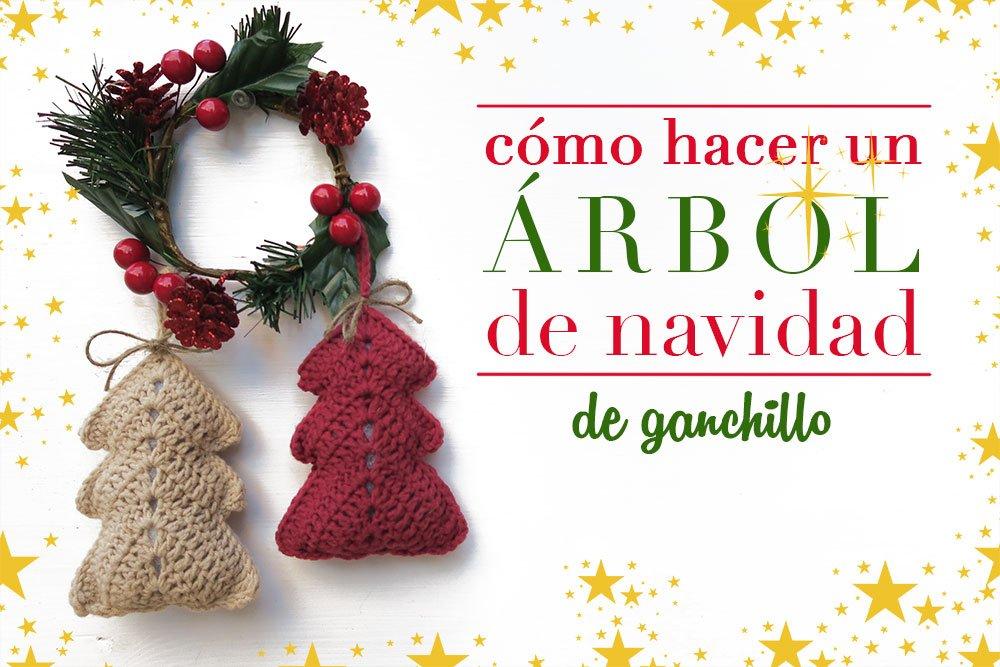 Árbol de Navidad de ganchillo crochet