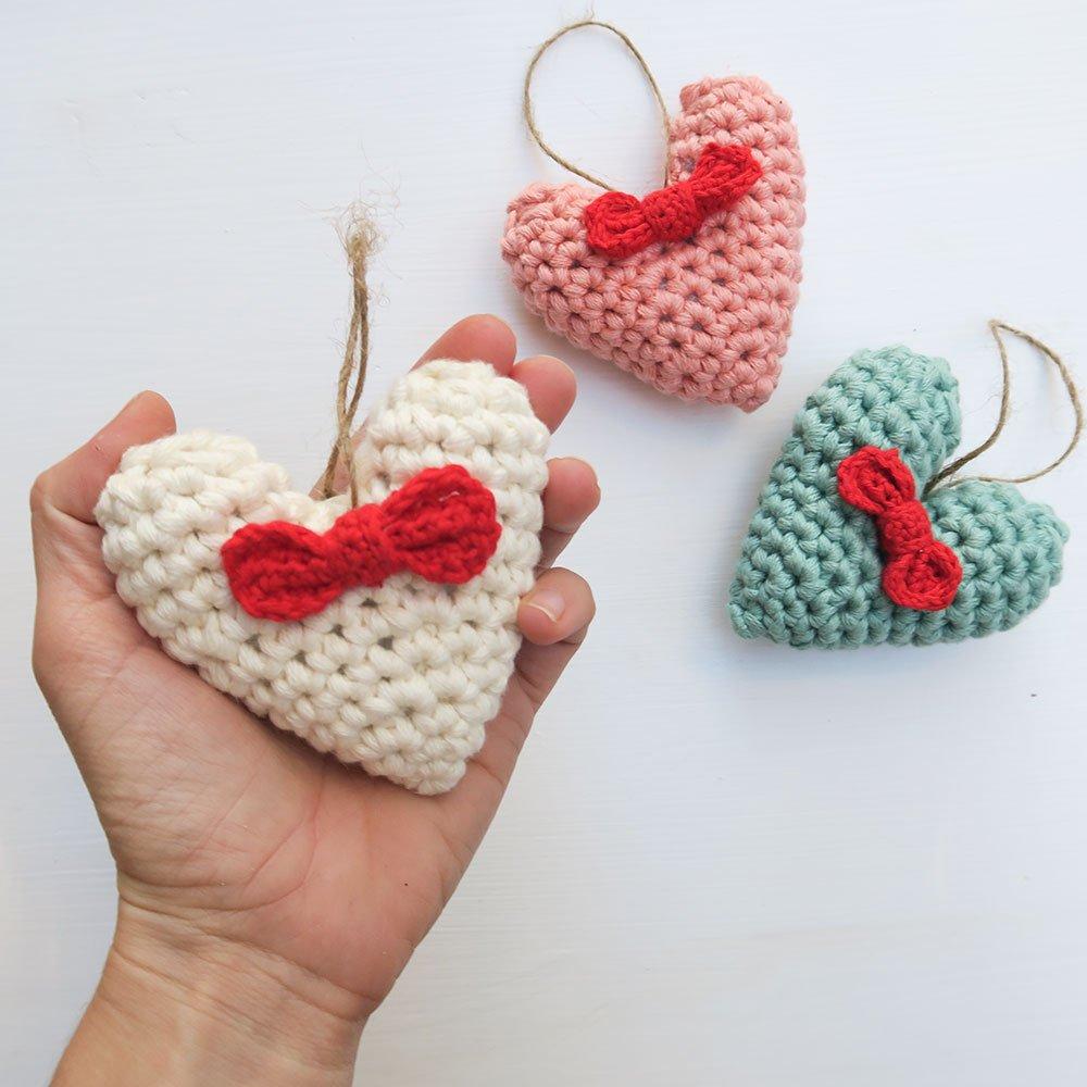 Corazón de ganchillo 3D tutorial