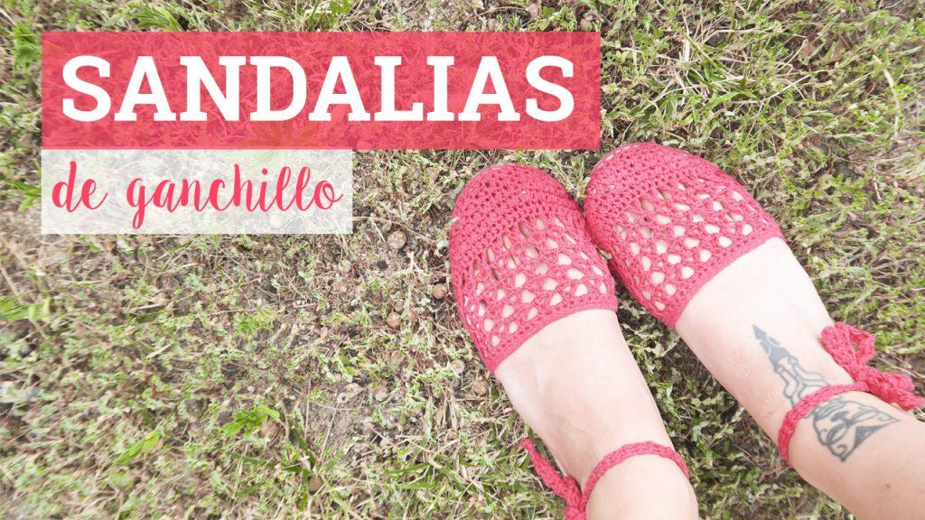 Sandalias de ganchillo