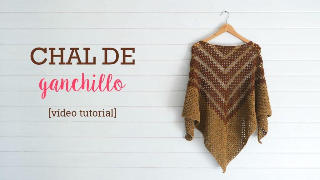 Cómo hacer un chal de ganchillo crochet