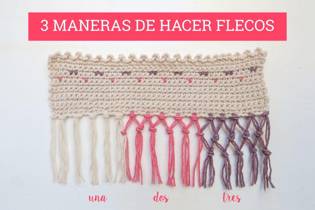 Cómo hacer flecos para trabajos y mantilla flamenco