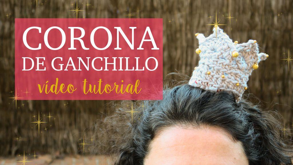 Diadema Corona de ganchillo