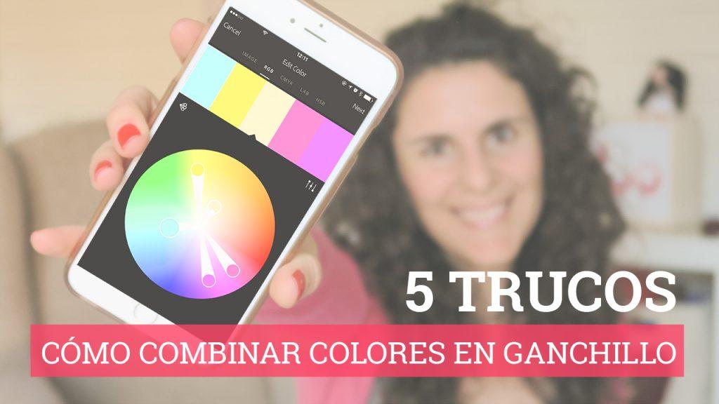 Cómo combinar colores en ganchillo
