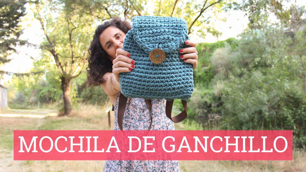 Vídeo tutorial de cómo hacer una mochila de ganchillo | Bluü