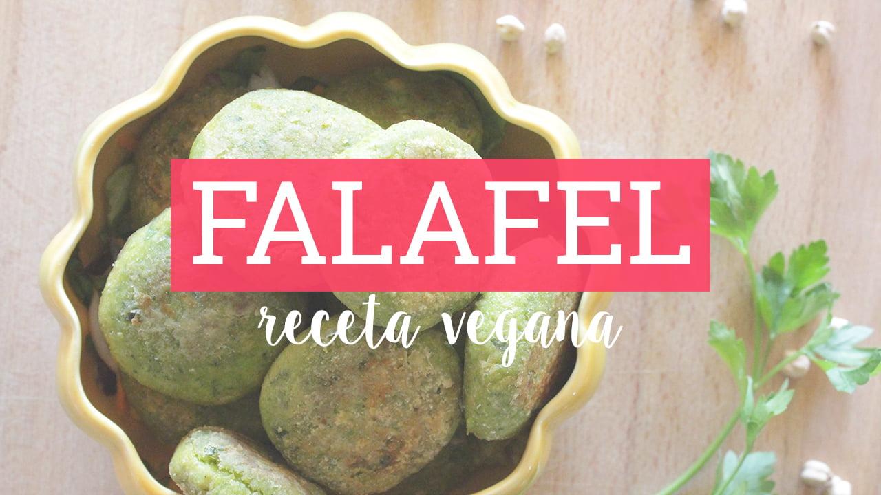 receta de falafel - receta vegana