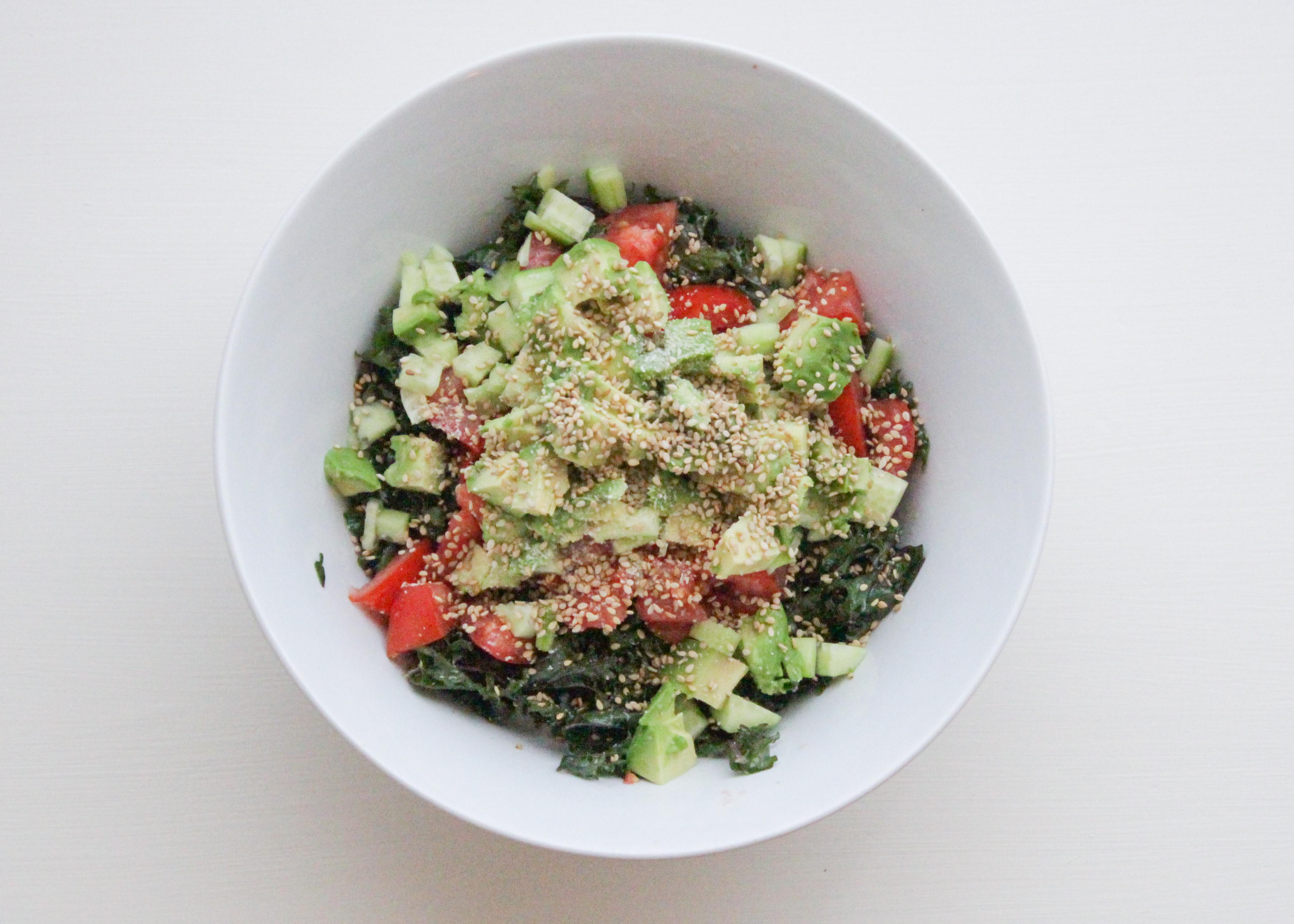 Receta ensalada saludable