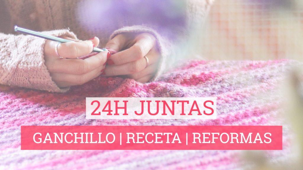 24h juntas: ganchillo receta vegetariana