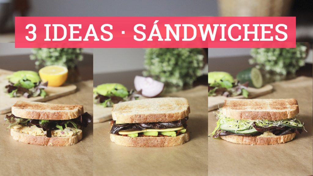 ideas de sandwiches vegetarianos