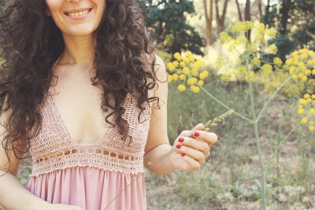 Vestido con top de ganchillo | Tutorial Bluü