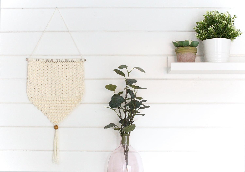 Cómo hacer un tapiz de ganchillo fácil y bonito | Tutorial Bluü