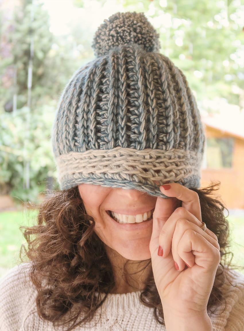 Tutorial gorro crochet Marta Bluü