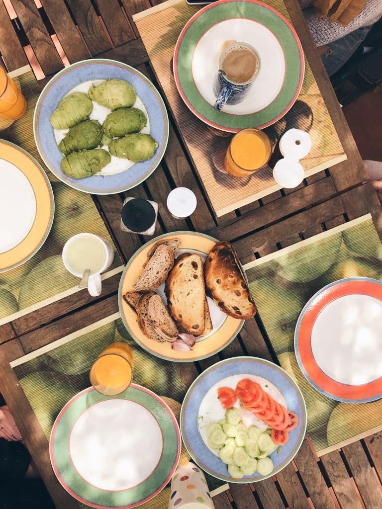 desayuno saludable cocinando el cambio