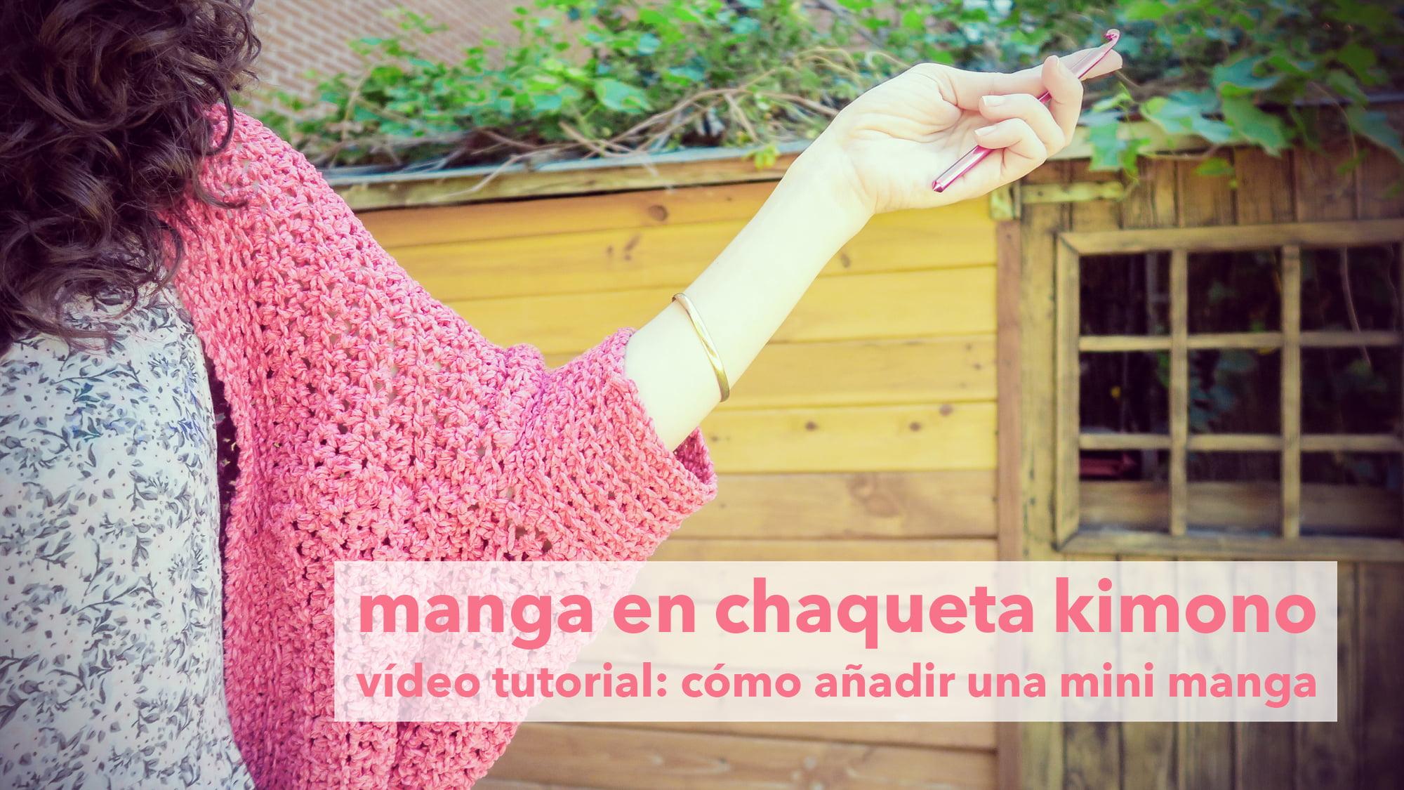 tutorial manga de ganchillo marta bluu
