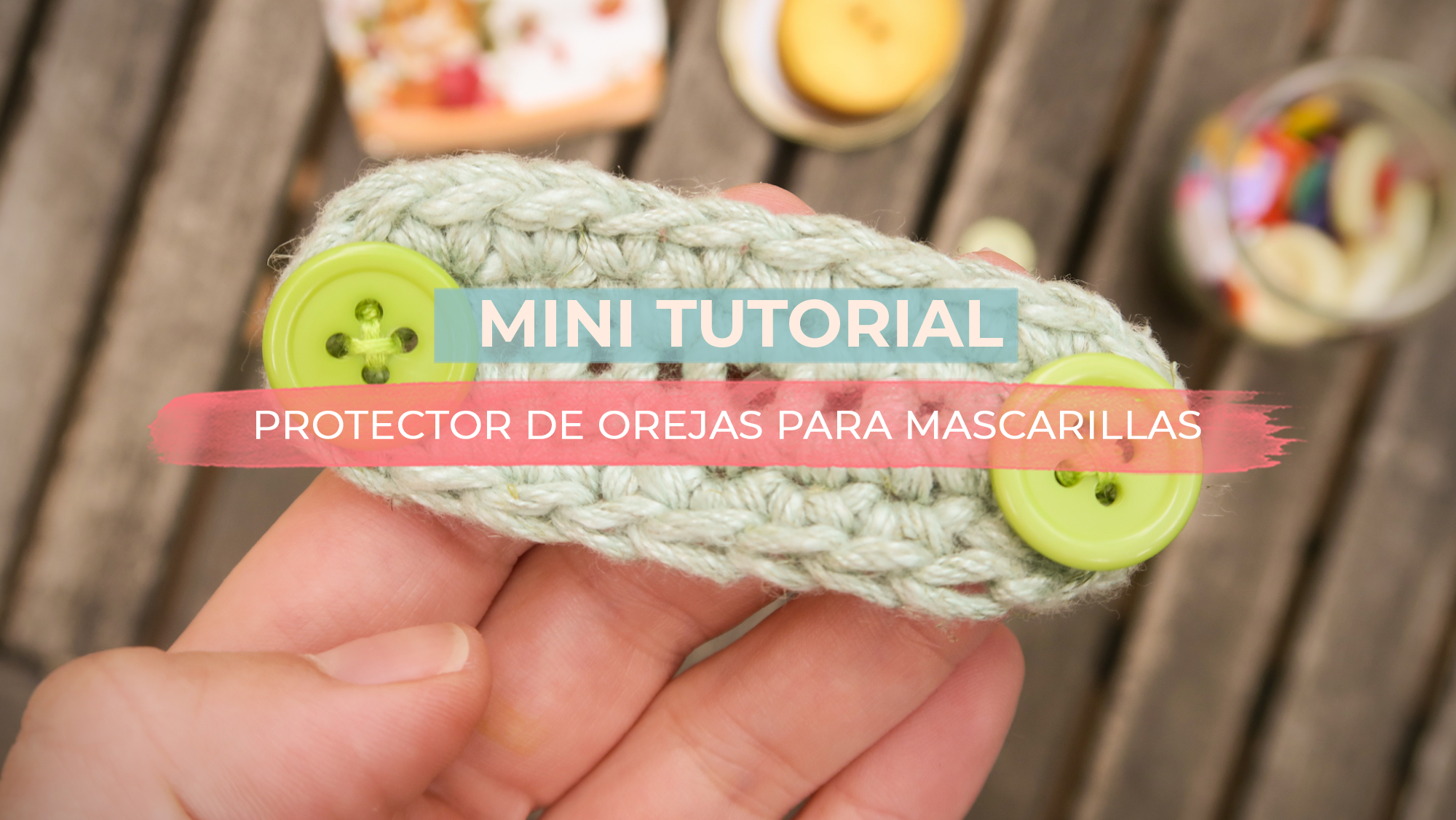 Protector de orejas a ganchillo | MINI TUTORIAL
